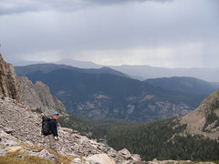 Rock Climbing Photo: RMNP Notchtop must do route!!!!