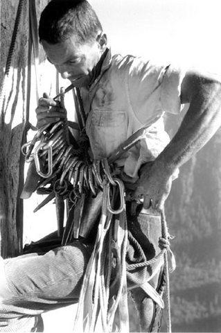 Rock Climbing Photo: Tom Frost Salathe Wall 1961
