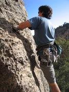 Rock Climbing Photo: Buster on Smart Server (5.10a)