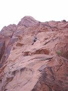 Rock Climbing Photo: My second lead climb, ah the memories...