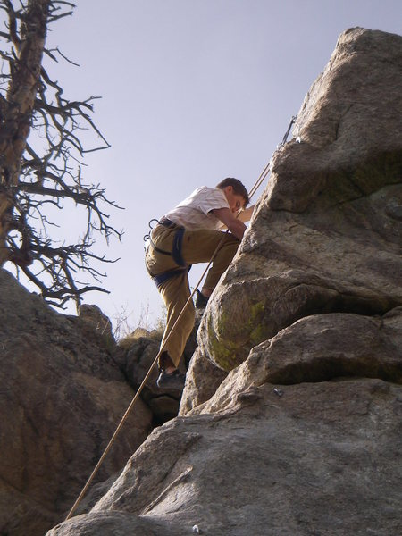 Me on upper cracks of DD.
