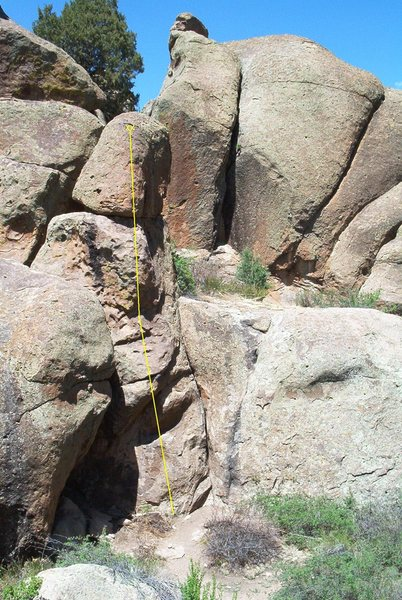 I+CN'? (5.6), Rock Garden, San Luis Valley, CO.