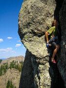 Rock Climbing Photo: Keen Butterworth on the 2nd pitch of International...