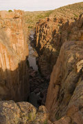Rock Climbing Photo: Looking up canyon, the West Canyon area. Photo by:...