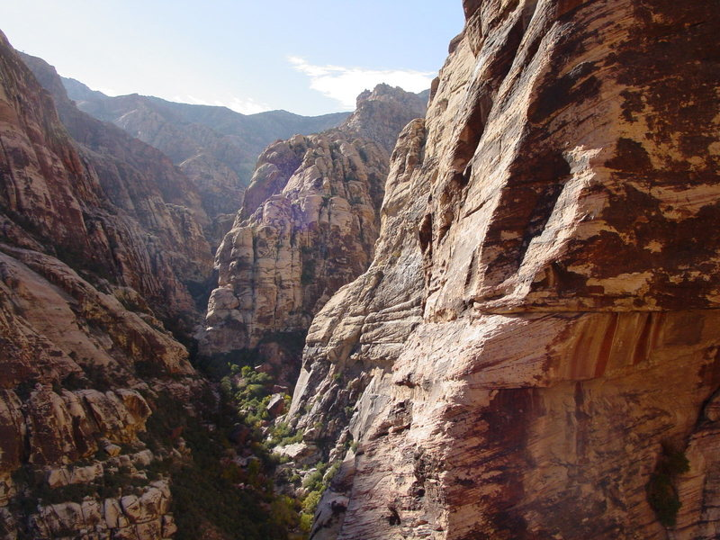 Pine Creek Canyon from 2nd pitch.
