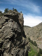 "Rock Climbing Photo: Finishing the ""Nice Ride"", long Gneiss R..."