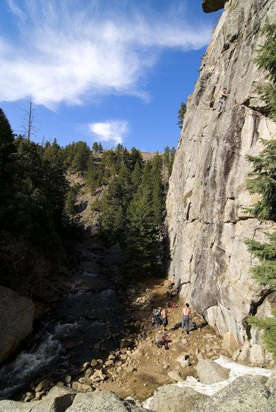 Rock Climbing Photo: Oceanic Wall.