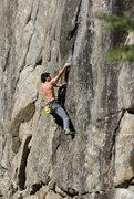 Rock Climbing Photo: Seth Finkelstein on The Creature... 5.11d