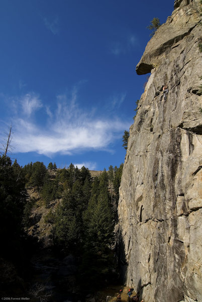 Rock Climbing Photo: Creature From The Black Lagoon, 5.11d.