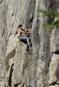 Rock Climbing Photo: Creature From The Black Lagoon - 5.11d.