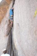Rock Climbing Photo: Sean leading Tanfasia.