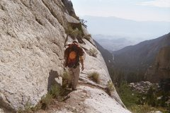 Rock Climbing Photo: The view from the ledges on our way up to the East...