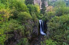 Rock Climbing Photo: Roughlock Falls