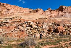Rock Climbing Photo: The Sunshine Wall slabs