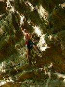 "Rock Climbing Photo: ""Frizzle Fry"" .12b"