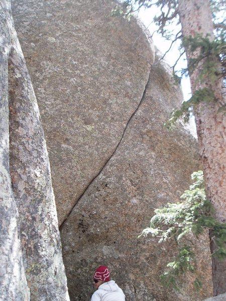 Rock Climbing Photo: Thin Lizzy.