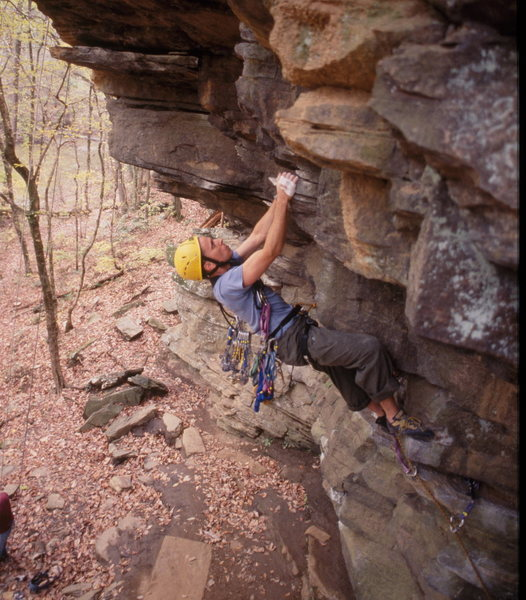 Rock Climbing Photo: Almost makes Allenbrook look decent.