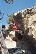 Rock Climbing Photo: Amber on Mono E Mono