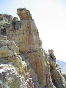 Rock Climbing Photo: Aleix Serrat-Capdevila on the King's Crystal 5.12.