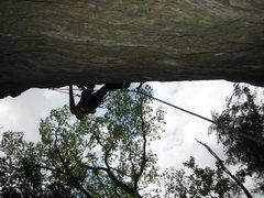 Rock Climbing Photo: Kinda steep...