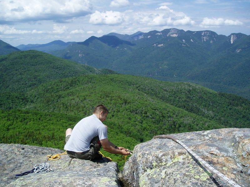 Rock Climbing Photo: On top of Noonmark, 'Dacks