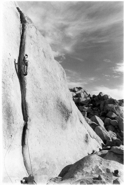 "Rock Climbing Photo: #2 From the 1st accent of ""It Seams Possible&..."