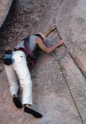 Rock Climbing Photo: Don't remember offhand where this is in JT, maybe ...