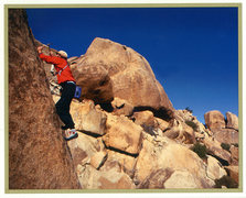 "Rock Climbing Photo: From the 1st accent of ""Deep, Shallow and Twi..."
