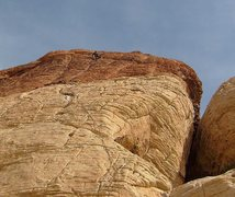 Rock Climbing Photo: The two pitches can be linked if you are so inclin...