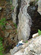 Rock Climbing Photo: Airy indeed...