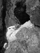 Rock Climbing Photo: Ruths hand... i just though this looked cool...