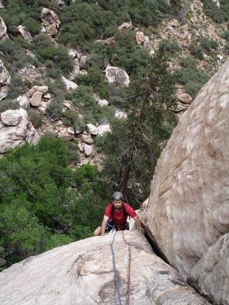 Rock Climbing Photo: A good climb. There's the Jonny on Peyote Power.  ...