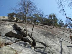 Rock Climbing Photo: The base of Stone Mountain, these are some of the ...