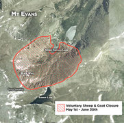 Rock Climbing Photo: Voluntary wildlife closure map, including Black Wa...