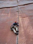 Rock Climbing Photo: Coyne Crack, Indian Creek, UT