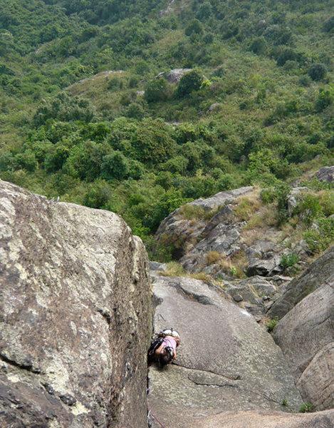Rock Climbing Photo: On Gweilo