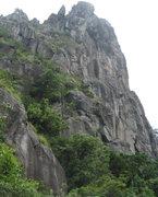 Rock Climbing Photo: Lion's Head Peak (Gweilo route on here)