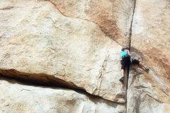 Rock Climbing Photo: stubborn piece