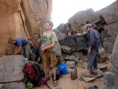 Rock Climbing Photo: the boys...