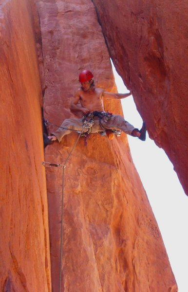 Mike on the FA of the wild 2nd pitch!