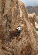 Rock Climbing Photo: El Chivo. Photo by Blitzo.