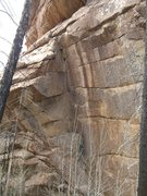 Rock Climbing Photo: Are you ready to bury the bone?  Blow it on this o...