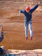 Rock Climbing Photo: The Jump