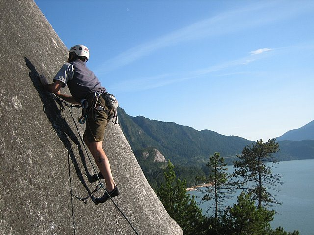 Rock Climbing Photo: True (but short) slab climbing photo by Harvey Mil...