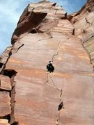 Rock Climbing Photo: Michael Morrin on Way Rambo