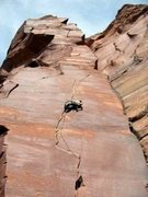Rock Climbing Photo: Another of Michael on Way Rambo