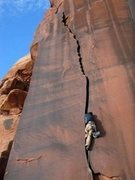 Rock Climbing Photo: Beautiful Crack