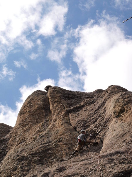 Rock Climbing Photo: same route, originally thought it was a 9+, turns ...