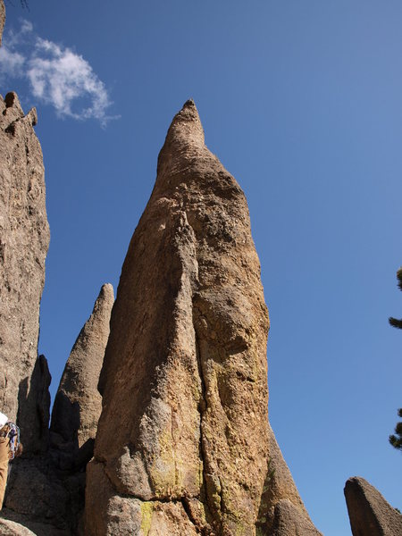Tricouni Nail, aka Cerebus. Either way this route is a must-do