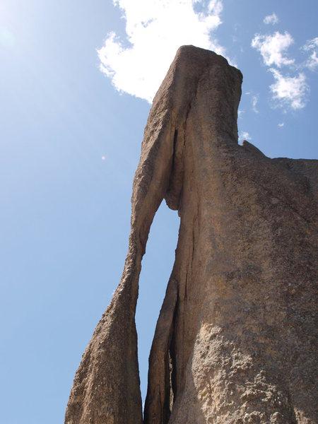 Rock Climbing Photo: the Needle's Eye